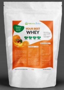 Proteini z okusom breskev pomaranča