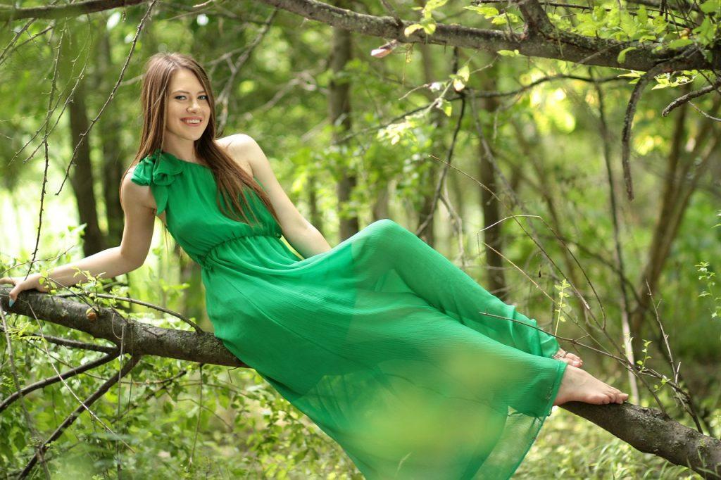 zelena barva