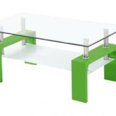 Klubska mizica za dnevno sobo – krasno in praktično darilo za mladi par
