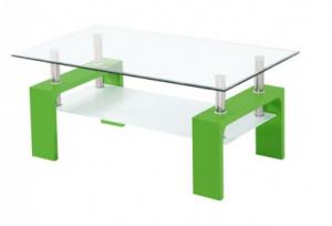 moderna klubska mizica steklena